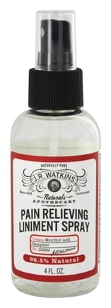 JR Watkins - Naturals Apothecary Pain Relieving Liniment Spray - 4 oz.