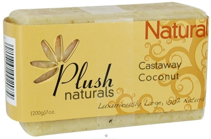 DROPPED: Plush Naturals - Bar Soap Castaway Coconut - 7 oz.