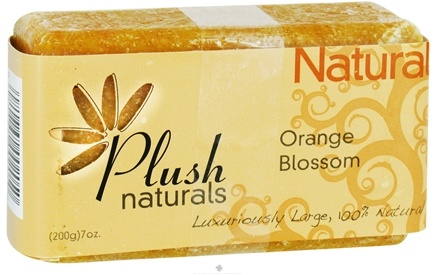 DROPPED: Plush Naturals - Bar Soap Orange Blossom - 7 oz. CLEARANCE PRICED