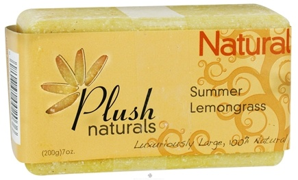 DROPPED: Plush Naturals - Bar Soap Summer Lemongrass - 7 oz.