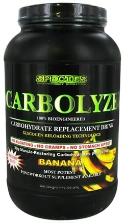 DROPPED: Species Nutrition - Carbolyze Carbohydrate Replacement Drink Banana - 4.4 lbs. CLEARANCE PRICED