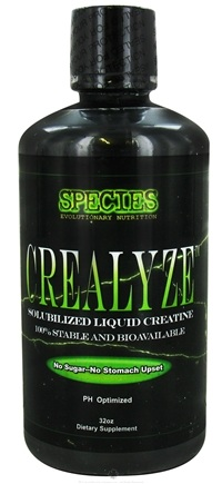 DROPPED: Species Nutrition - Crealyze Solubilized Liquid Creatine - 32 oz.