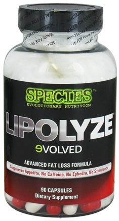 DROPPED: Species Nutrition - Lipolyze Evolved Advanced Fat Loss Formula - 90 Capsules CLEARANCE PRICED