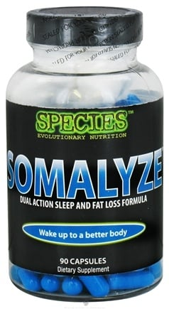 DROPPED: Species Nutrition - Somalyze Dual Action Sleep and Fat Loss Formula - 90 Capsules