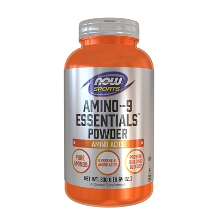 NOW Foods - Amino-9 Essentials Powder - 11.64 oz.