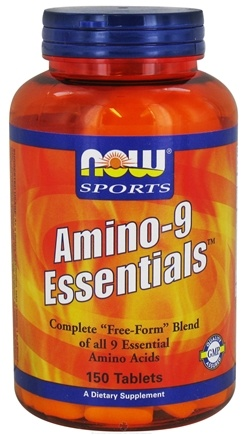 DROPPED: NOW Foods - Amino-9 Essentials - 150 Tablets