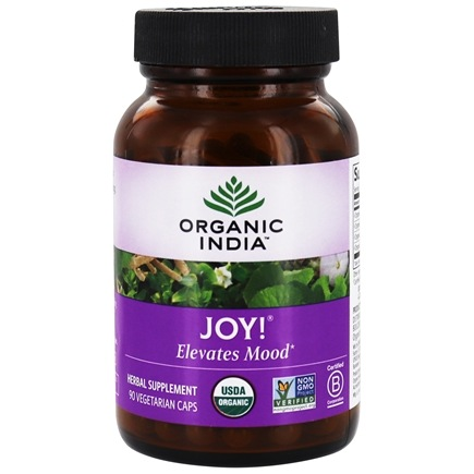 Organic India - Joy Uplifts Mood - 90 Vegetarian Capsules
