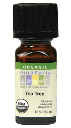 DROPPED: Aura Cacia - Essential Oil Organic Tea Tree - 0.25 oz. CLEARANCE PRICED