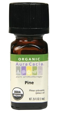 DROPPED: Aura Cacia - Essential Oil Organic Pine - 0.25 oz. CLEARANCE PRICED