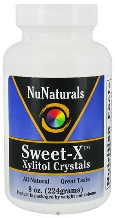 DROPPED: NuNaturals - Sweet-X Xylitol Crystals - 8 oz. CLEARANCE PRICED