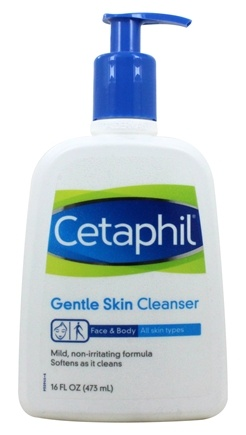 Cetaphil - Gentle Skin Cleanser For All Skin Types Fragrance-Free - 16 oz.