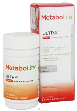 DROPPED: MetaboLife - Ultra Stage 1 Weight Loss Support - 90 Caplets CLEARANCE PRICED