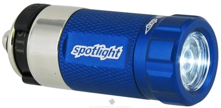 DROPPED: Essential Gear - eGear Spotlight Rechargeable LED Flashlight Blue - CLEARANCE PRICED