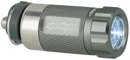 DROPPED: Essential Gear - eGear Spotlight Rechargeable LED Flashlight Titanium - CLEARANCE PRICED