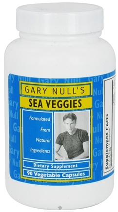 DROPPED: Gary Null's - Sea Veggies - 90 Vegetarian Capsules