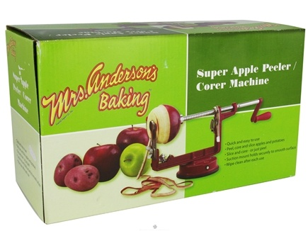 DROPPED: Mrs. Anderson's Baking - Super Apple Peeler & Corer Machine - CLEARANCE PRICED