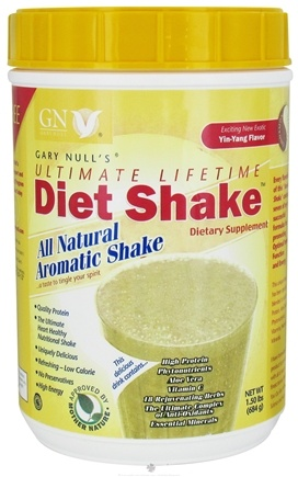 DROPPED: Gary Null's - Ultimate Lifetime Diet Shake Cinnamon Vanilla - 1.5 lbs.