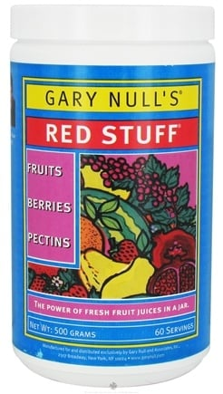 DROPPED: Gary Null's - Red Stuff Powder - 500 Grams