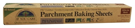 If You Care - Parchment Baking Sheets Unbleached Totally Chlorine-Free (TCF) - 24 Sheet(s)