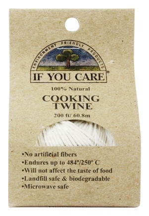 If You Care - Cooking Twine 100% Natural - 200 ft.