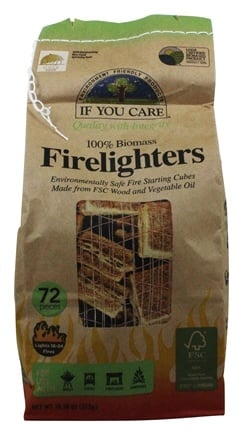 If You Care - Firelighters Wood Starting Cubes - 72 Piece(s)