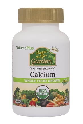 Nature's Plus - Source Of Life Garden Calcium With AlgaeCal - 120 Vegetarian Capsules