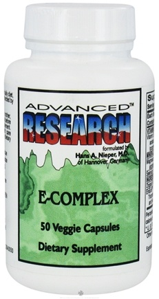DROPPED: Advanced Research - E-Complex - 50 Vegetarian Capsules CLEARANCE PRICED
