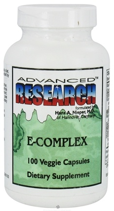 DROPPED: Advanced Research - E-Complex - 100 Vegetarian Capsules CLEARANCE PRICED