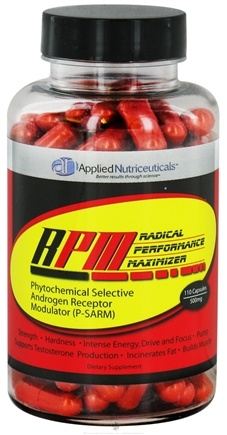 DROPPED: Applied Nutriceuticals - RPM Radical Performance Maximizer 500 mg. - 110 Capsules CLEARANCE PRICED