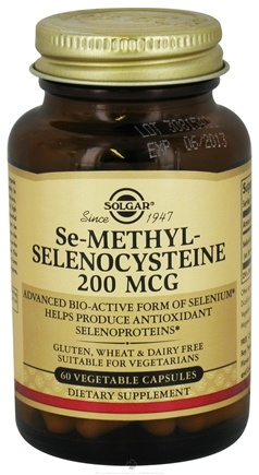 DROPPED: Solgar - Se-Methylselenocysteine 200 mcg. - 60 Vegetarian Capsules