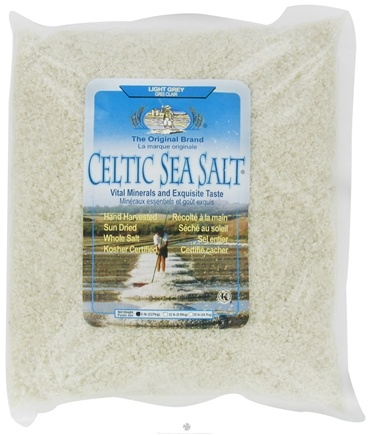 DROPPED: Selina Naturally - Celtic Sea Salt Bag Light Grey Course - 5 lb.