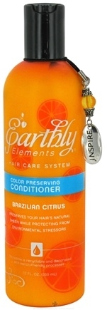 DROPPED: Earthly Elements - Conditioner Color Preserving Brazilian Citrus - 12 oz. CLEARANCE PRICED