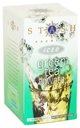 DROPPED: Stash Tea - Premium Green Iced Tea Powder - 12 Packet(s)