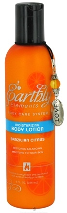 DROPPED: Earthly Elements - Body Lotion Moisturizing Brazilian Citrus - 8 oz. CLEARANCE PRICED