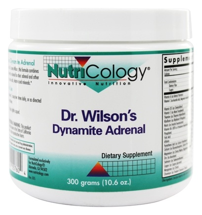 DROPPED: Nutricology - Dr. Wilson's Dynamite Adrenal - 10.6 oz.