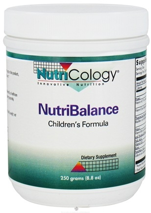 DROPPED: Nutricology - NutriBalance Children's Formula - 8.8 oz.