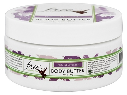 DROPPED: Chandler Farm - Free Body Butter Natural Lavender - 7 oz.