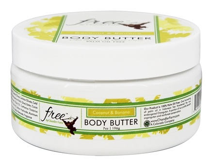 DROPPED: Chandler Farm - Free Body Butter Coconut & Banana - 7 oz.