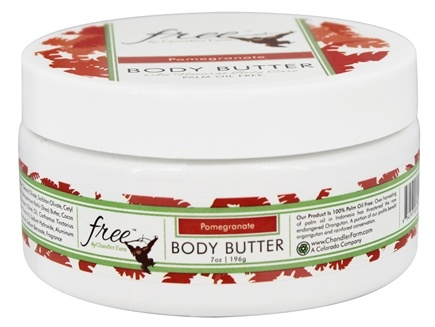 DROPPED: Chandler Farm - Free Body Butter Pomegranate - 7 oz.