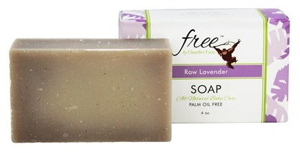 DROPPED: Chandler Farm - Free Soap Raw Lavender - 4 oz.