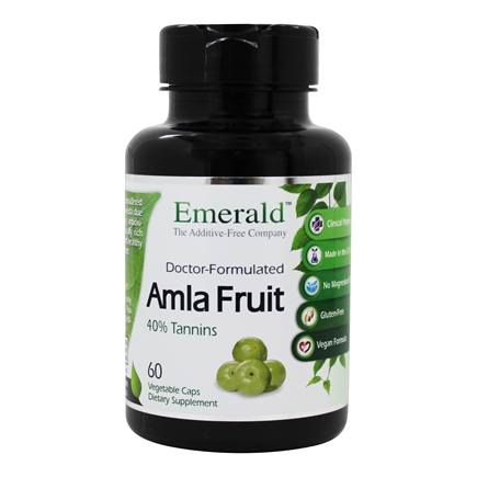 FruitrientsX - Amla Fruit Natural Source Vitamin C - 60 Vegetarian Capsules