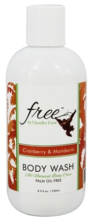 Chandler Farm - Free Body Wash Cranberry & Mandarin - 8.3 oz.
