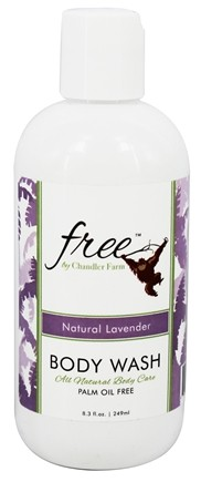 DROPPED: Chandler Farm - Free Body Wash Natural Lavender - 8.3 oz. CLEARANCE PRICED