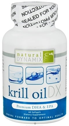Natural Dynamix - Krill Oil DX - 60 Softgels