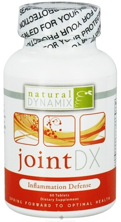 DROPPED: Natural Dynamix - Joint DX Inflammation Defense - 60 Tablets CLEARANCE PRICED