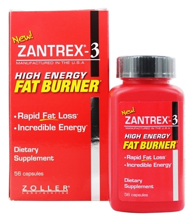 Zantrex - 3 High Energy Fat Burner - 56 Capsules