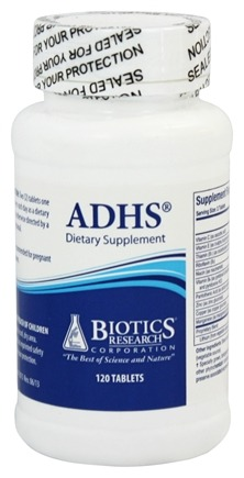 DROPPED: Biotics Research - ADHS - 120 Tablets