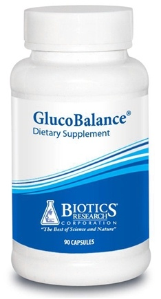 DROPPED: Biotics Research - GlucoBalance - 90 Capsules CLEARANCE PRICED
