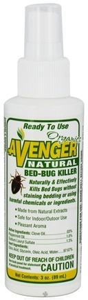 DROPPED: Avenger Organics - Natural Bed-Bug Killer Ready To Use Spray - 3 oz.
