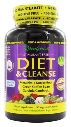 Rainforest - Diet & Cleanse - 90 Vegetarian Capsules